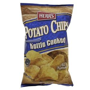 Herr's Potato Chips Kettle Cooked 170g